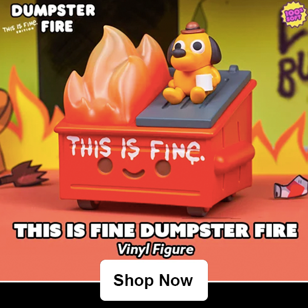 preorder 100 soft dumpster fire toys entertainment earth