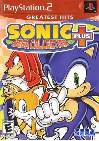 Sonic Mega Collection Plus Greatest Hits- PS2 (Used)