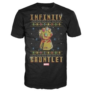 Marvel - Infinity Gauntlet Ugly Christmas Sweater T-Shirt SIZE XL - Display Geek