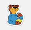"Bear Sticker  (1.53"" x 2"") - Display Geek"