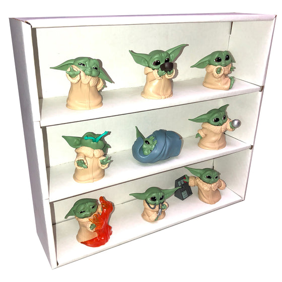 MINI - Display Case for The Bounty Collection, Wall Mountable & Stackable, Corrugated Cardboard