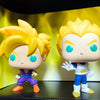 SUPER SAIYAN - Single Row Display Case with Backdrop Insert, Wall Mountable & Stackable Pop Shelf, Corrugated Cardboard