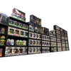 OUT OF BOX - Display Case for Funko Pops, Wall Mountable & Stackable Toy Shelf, Corrugated Cardboard