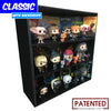 HARRY POTTER - Display Case for Funko Pops with 3 Backdrop Inserts, Corrugated Cardboard - Display Geek