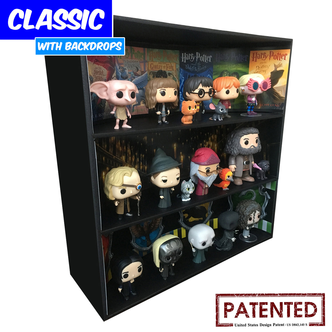 Display Geek Harry Potter Themed Funko Display Case