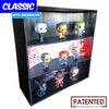 HORROR - Display Case for Funko Pops with 3 Backdrop Inserts, Corrugated Cardboard - Display Geek