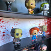 HORROR - Funko Pop Display with 3 Backdrop Inserts Included, Black Corrugated Cardboard - Display Geek, Inc.