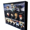 STAR WARS - Funko Pop Display with 3 Backdrop Inserts Included, Black Corrugated Cardboard - Display Geek, Inc.