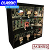 STRANGER THINGS - Display Case for Funko Pops with 3 Backdrop Inserts, Corrugated Cardboard - Display Geek