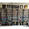 CLASSIC - Funko Pop Display Stackable Toy Shelf for Vinyl Collectibles, Black Corrugated Cardboard - Display Geek, Inc.