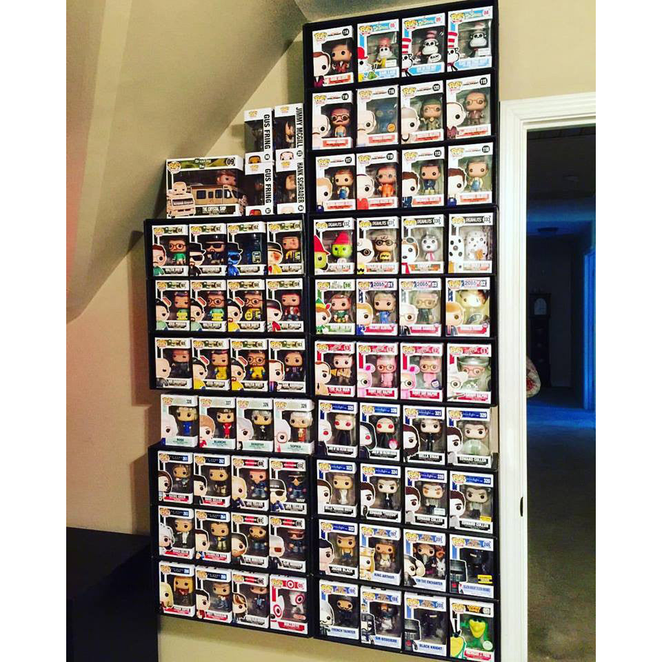 funko pop display shelf for lightweight vinyl toys display geek inc rh displaygeek com Display Cases for Collectibles Doll Display Cases
