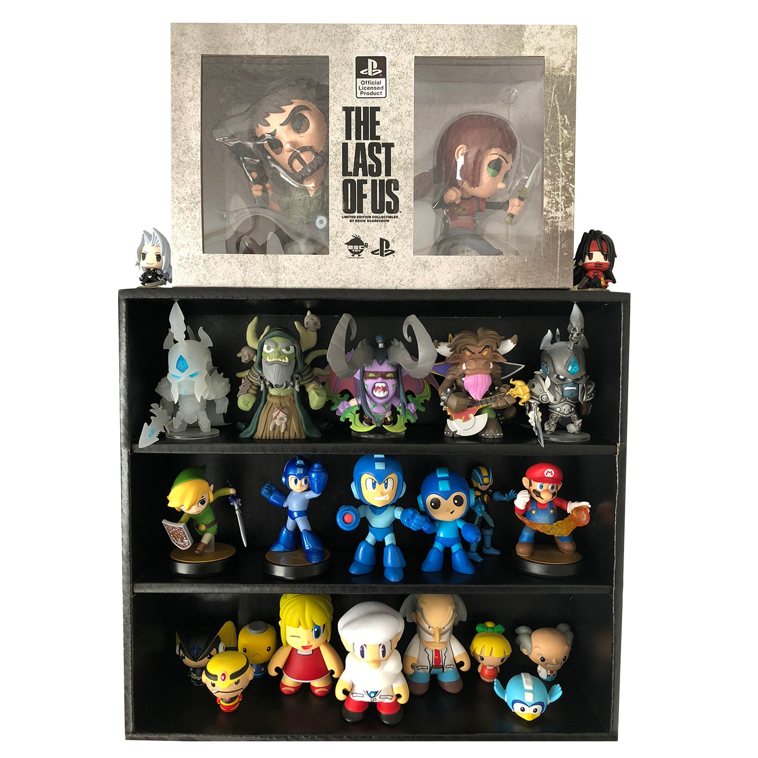 Funko Mystery Mini Black Display Shelf For Lightweight Vinyl Toys