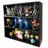 MINI - Black Display Case for Small Toys, Wall Mountable & Stackable, Corrugated Cardboard - Display Geek