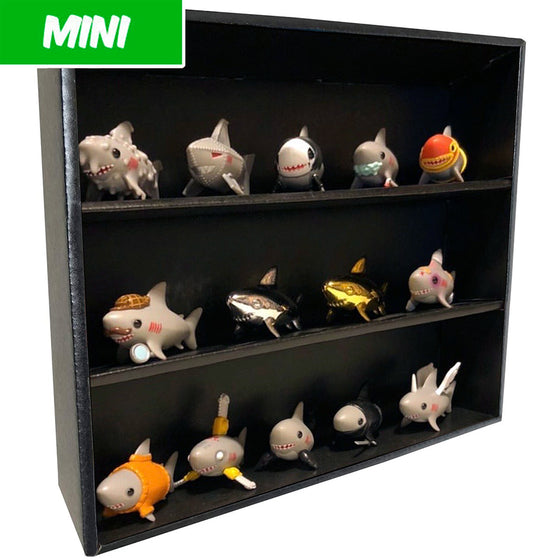 MINI - Display Case for Bimtoy Chanpu Chanpu, Wall Mountable & Stackable, Corrugated Cardboard