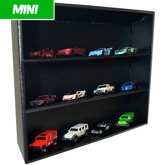 MINI - Display Case for Hot Wheels, Wall Mountable & Stackable, Corrugated Cardboard