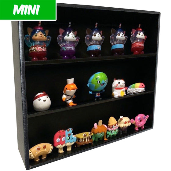 MINI - Display Case for Paka Paka Soda Kats, Wall Mountable & Stackable, Corrugated Cardboard