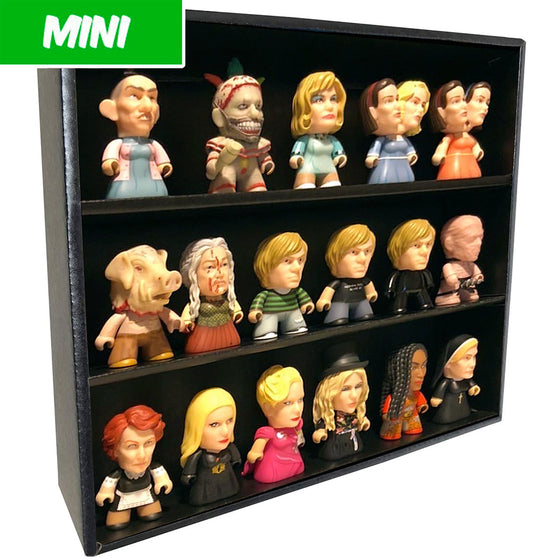 MINI - Display Case for Titans, Wall Mountable & Stackable, Corrugated Cardboard