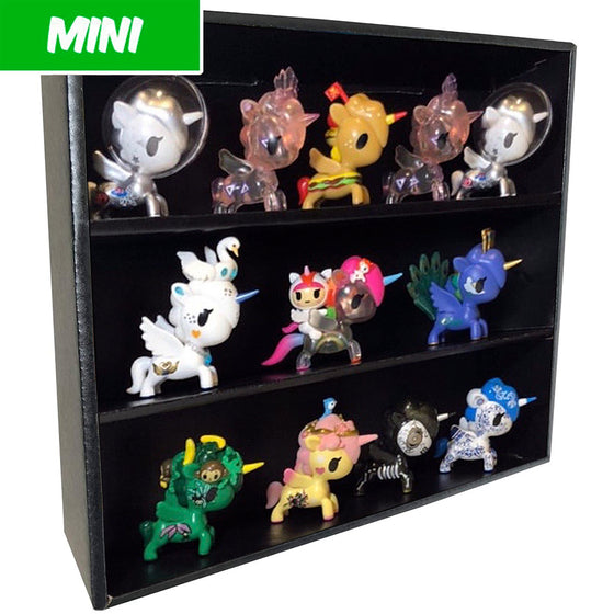 MINI - Display Case for Tokidoki Unicorno, Wall Mountable & Stackable, Corrugated Cardboard