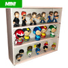 MINI - White Display Case for Funko Mystery Minis, Wall Mountable & Stackable, Corrugated Cardboard - Display Geek