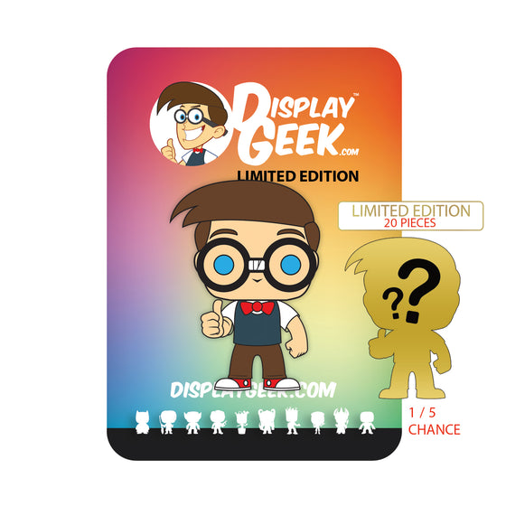 **PRE-ORDER** Display Geek Mascot Collectible Pin - Display Geek, Inc.
