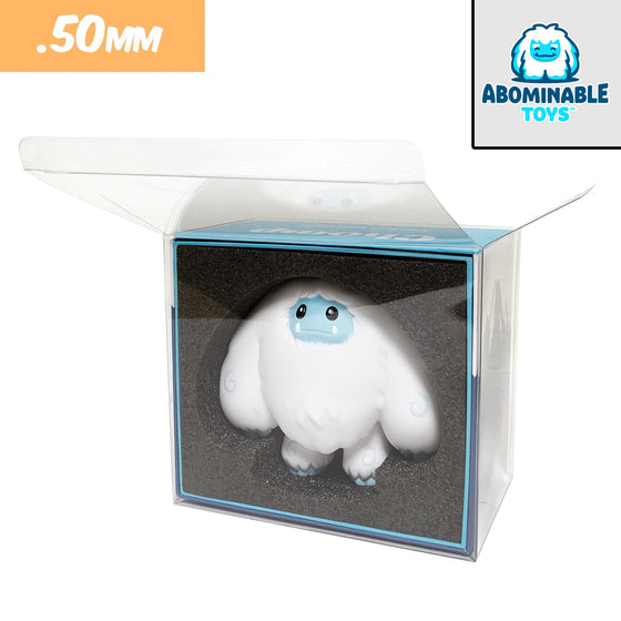 ABOMINABLE TOYS Protectors for Chomp Vinyl Collectible Figures, 50mm thick  popshield vaulted vinyl