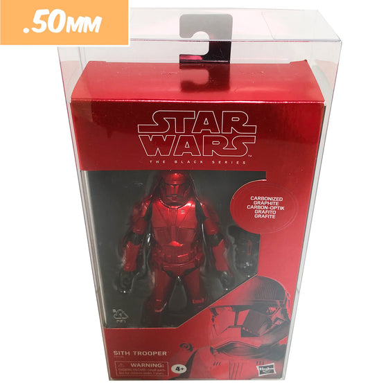 STAR WARS BLACK SERIES Protectors for Action Figures, .50mm thick