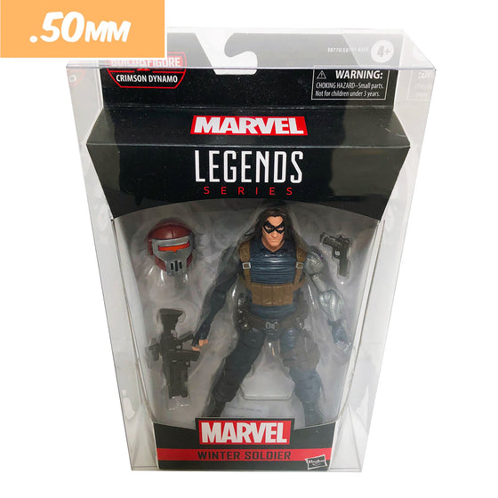 MARVEL LEGENDS Protectors for Action Figures, .50mm thick display geek  popshield vaulted vinyl kollector protector