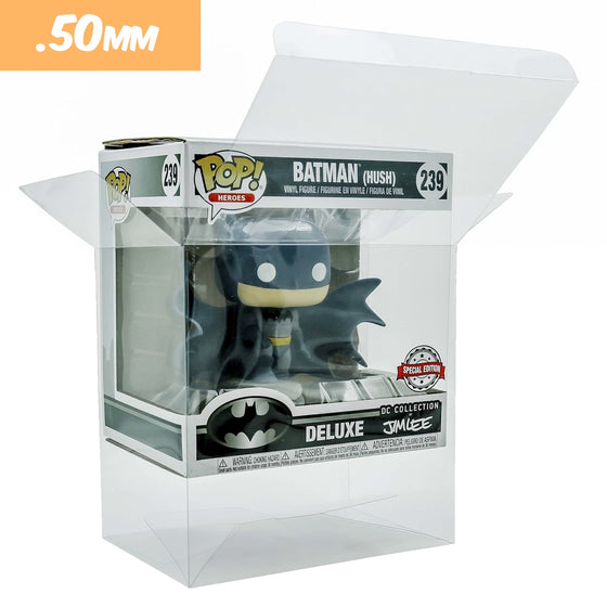 BATMAN HUSH Pop Protectors for Funko Vinyl Collectible Figures, 50mm thick ***Read Details***