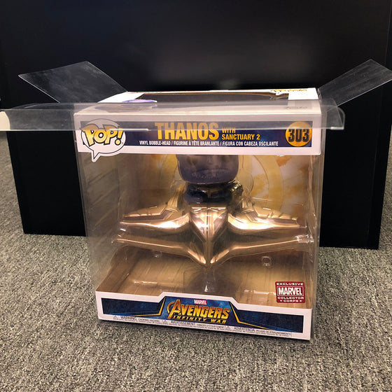 THANOS IN SHIP Pop Protectors for Funko Thanos Ship (MCC), 35mm thick - Display Geek