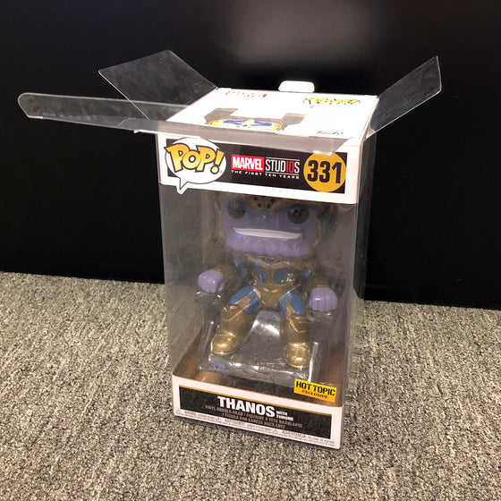 THANOS THRONE Pop Protectors for Funko Throne (Hot Topic Exclusive), 50mm thick  popshield vaulted vinyl