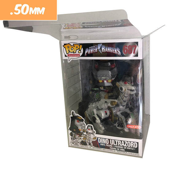 10 INCH Pop Protectors for GIANT Funko Vinyl Collectible Figures, 50mm thick ***Read Details*** - Display Geek