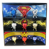 **BACK IN STOCK MAY 13TH** DC COMICS - Display Case for Funko Pops with 3 Backdrop Inserts, Corrugated Cardboard - Display Geek