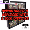 SPECIFIC - Display Case for Funko VYNL 2 Packs, Wall Mountable & Stackable Toy Shelf, Corrugated Cardboard