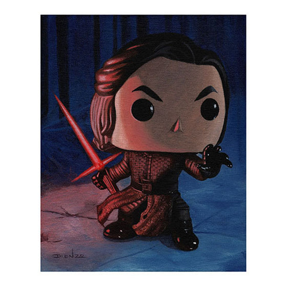 "Digital Print 11"" x 14"" - Star Wars Episode VII Kylo Ren (Display Geek Exclusive) - Display Geek"