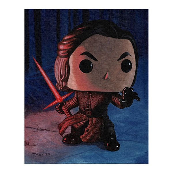 "DIENZO ART Digital Print 11"" x 14"" - Star Wars Episode VII Kylo Ren (Display Geek Exclusive)"