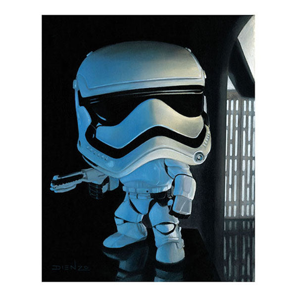 "DIENZO ART Digital Print 11"" x 14"" - Star Wars Episode VII Storm Trooper (Display Geek Exclusive)"