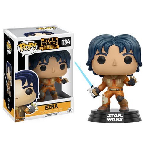 Ezra Star Wars Rebels Funko Pop *7/10 box*