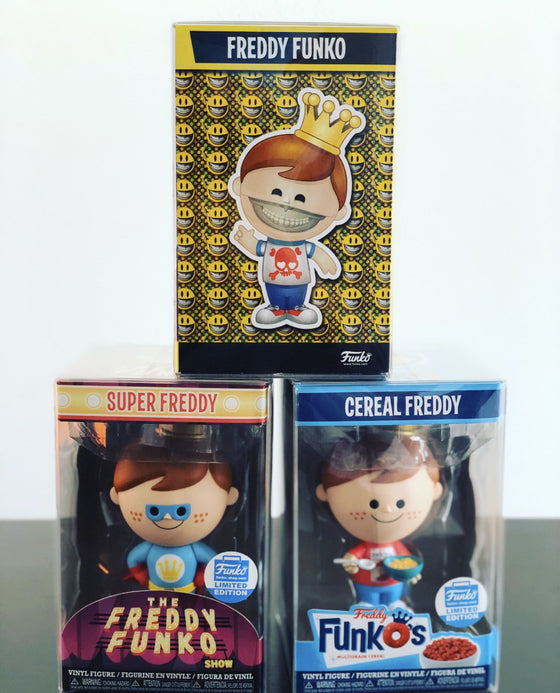 SMALL FREDDY FUNKO Pop Protectors for Funko Vinyl Collectible Figures, 50mm thick  popshield vaulted vinyl