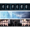 GAME OF THRONES - Backdrop Inserts for CLASSIC Display Geek Shelves (Limited Edition) - Display Geek