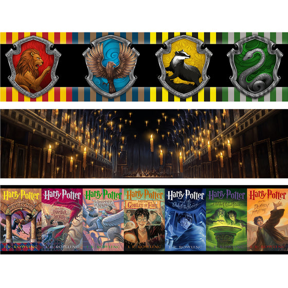 HARRY POTTER - Backdrop Inserts for CLASSIC Display Geek Shelves (Limited Edition) - Display Geek