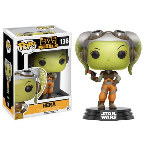Hera Star Wars Rebels Funko Pop *8/10 box*
