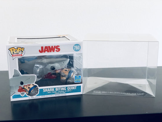 SDCC JAWS Pop Protectors for Funko Vinyl Collectible Figures, 50mm thick ***Read Details***