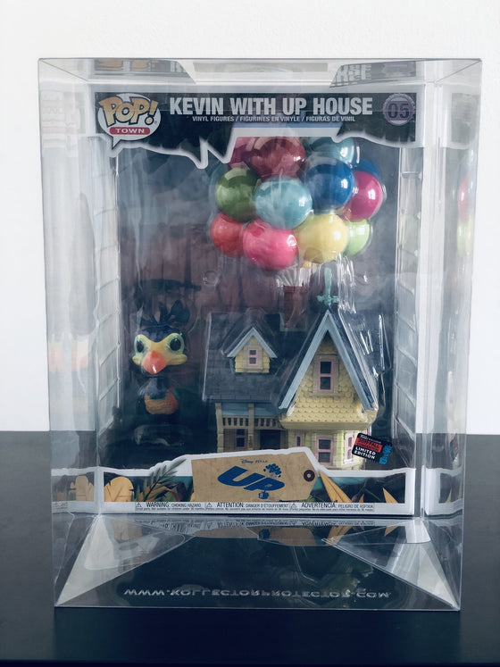 UP HOUSE Pop Protectors for Funko Vinyl Collectible Figures, 50mm thick  popshield vaulted vinyl