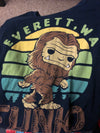 Bigfoot Everett WA - T-Shirt SIZE L