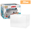SDCC JAWS Pop Protectors for Funko Vinyl Collectible Figures, 50mm thick  popshield vaulted vinyl