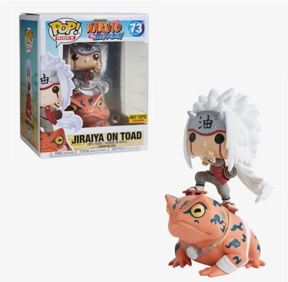 "6"" Jiraiya on Toad (Hot Topic)"