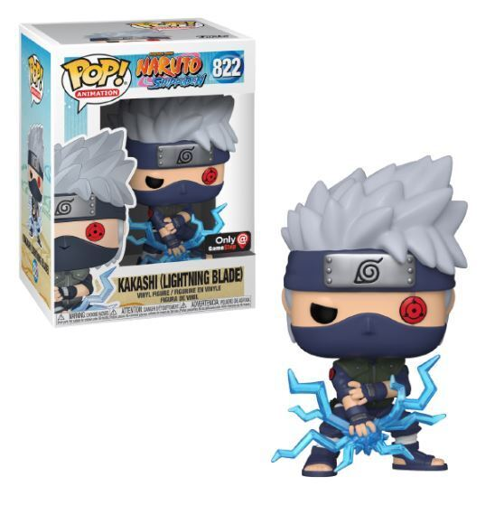 Kakashi (Lightning Blade) (Action Pose) (GameStop)