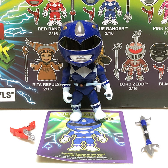 Loyal Subjects - Power Rangers - Blue Ranger - Display Geek