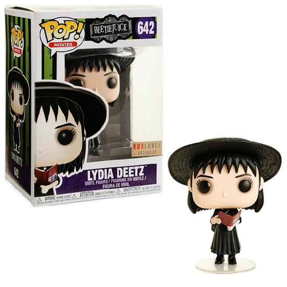Lydia Deetz Book (BoxLunch) Funko Pop