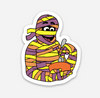 "Mummy Sticker  (1.58"" x 2"") - Display Geek"